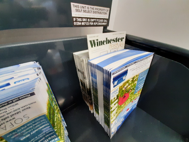 Winchester Lifestyle Advertisers Not Getting a Look In.